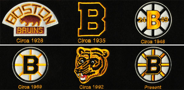Boston bruins heritage banner bruins logos on the heritage banner voltagebd Image collections