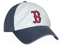 Red Sox white panel franchise hat