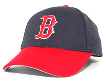Red Sox Nike navy and red hat