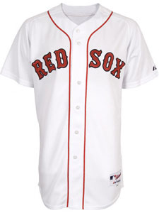 Red Sox home authentic jersey