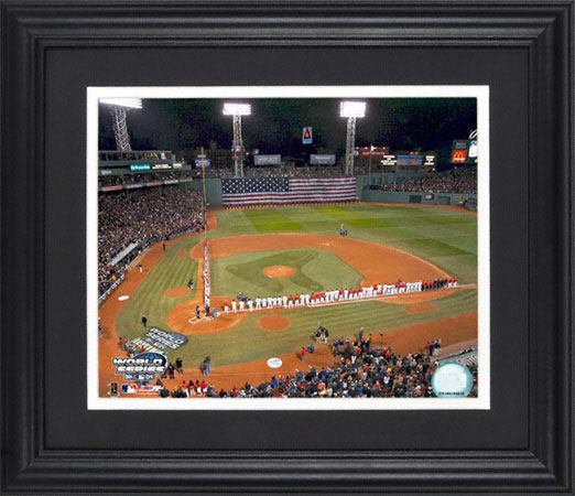 2004 Fenway Park World Series Photo