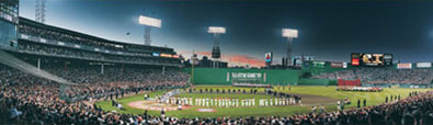 1999 All-Star Game - All Century Players panorama by Rob Arra