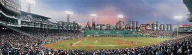 Daisuke Matsuzaka's First Pitch at Fenway by Rob Arra
