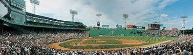 The Green Monster at Fenway by Rob Arra