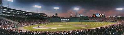 1999 ALCS - Red Sox vs. Yankees panorama by Rob Arra