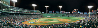 2004 World Series at Fenway Park panorama by Rob Arra