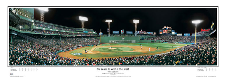 2004 World Series Fenway Park Panorama