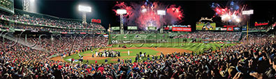 2013 World Series celebration panorama by Rob Arra