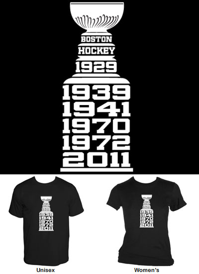 Boston Cup Champions shirt