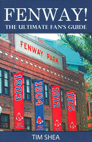 Fenway Park guide and pole finder book