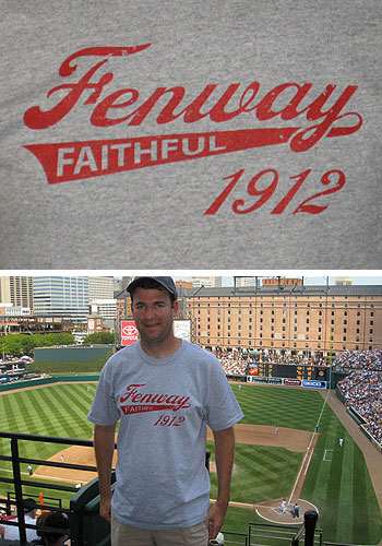 Fenway Faithful shirt