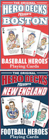 Boston and New England poker cards