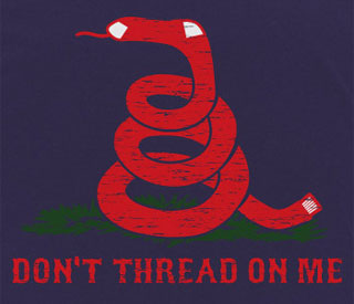 Don't Thread On Me shirt
