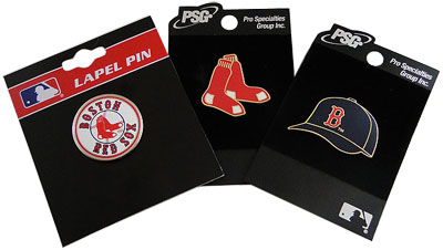 Red Sox lapel pins