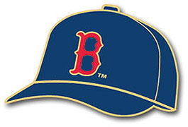 Red Sox hat pin