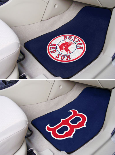 Red Sox car mats