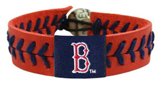 Red Sox team color seam bracelet