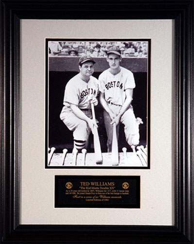 Ted Williams and Jimmie Foxx