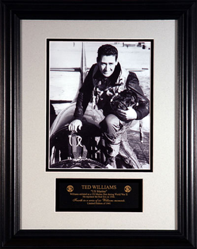 Ted Williams the Marine fighter pilot