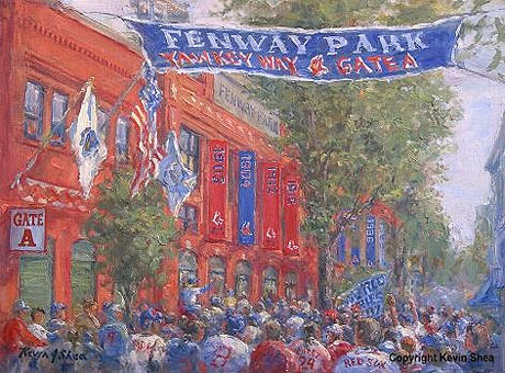 Yawkey Way print by Kevin Shea