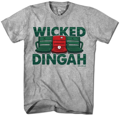 Wicked Dingah red seat shirt