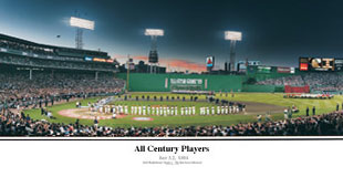 Fenway Park - All Century Players Ceremony