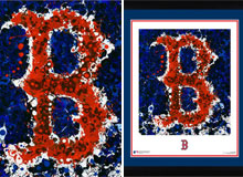 Boston Red Sox logo art