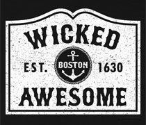 Wicked Awesome sign shirt