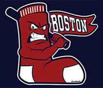 Mad Batting Boston Sox shirt