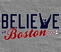 Believe in Boston V shirt