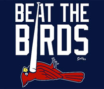 Beat the Birds shirt