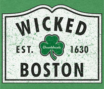 Wicked Boston sign shirt