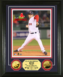 Clay Buchholz gold coin photomint