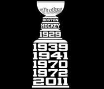 Boston Hockey Cup Champions shirt