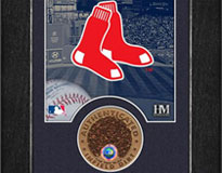 Red Sox mini mint with Fenway dirt