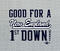 1st Down New England shirt