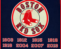 Red Sox World Series Champions banner