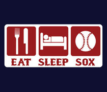 Eat Sleep Sox shirt