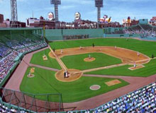 1950 Fenway Park by Andy Jurinko
