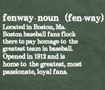 The Definition of Fenway shirt