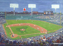 Fenway Park by Kevin Shea