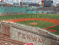 Fenway and Red Sox logo puzzle