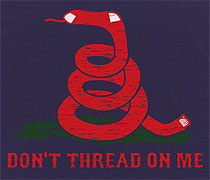 Don't Thread On Me Rattlesox shirt