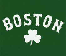 Boston Shamrock shirt