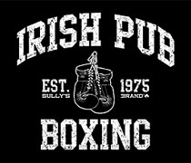 Irish Pub Boxing shirt