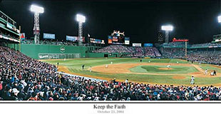 Game 1 of 2004 World Series at Fenway Park