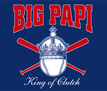 Big Papi King of Clutch shirt