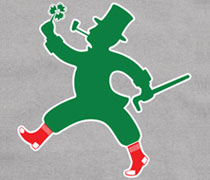 Baseball Leprechaun Sox shirt