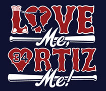 Love Me, Ortiz Me shirt