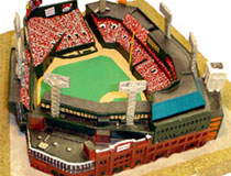 Fenway Park stadium replica